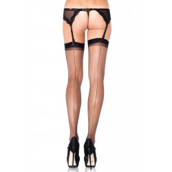 Black Spandex Backseam Garter Stockings - Pack of 3 CrossDress Fashions  Womens Clothing for Crossdressers, TG, Female Impersonators