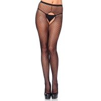 Fishnet Crotchless Pantyhose  - Pack of 3