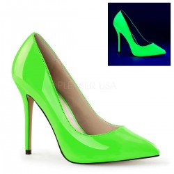 Amuse Neon Green 5 Inch High Heel Pump CrossDress Fashions  Womens Clothing for Crossdressers, TG, Female Impersonators