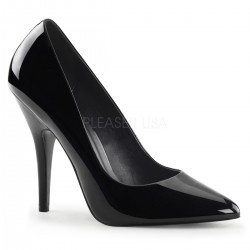 Black 5 Inch Heel Seduce Stiletto Pump CrossDress Fashions  Womens Clothing for Crossdressers, TG, Female Impersonators