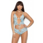 Baby Blue Lace Cami Top and Panties at CrossDress Fashions,  Womens Clothing for Crossdressers, TG, Female Impersonators