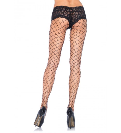 Diamond Fence Net Boyshort Pantyhose  - Pack of 3 at CrossDress Fashions,  Womens Clothing for Crossdressers, TG, Female Impersonators