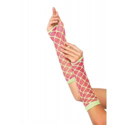 Duel Net Neon Arm Warmers CrossDress Fashions  Womens Clothing for Crossdressers, TG, Female Impersonators