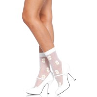 Daisy Spandex Anklets Pack of 3