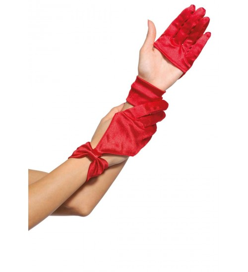 Satin Cut Out Gloves at CrossDress Fashions,  Womens Clothing for Crossdressers, TG, Female Impersonators