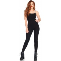 Basic Womens Unitard in Black