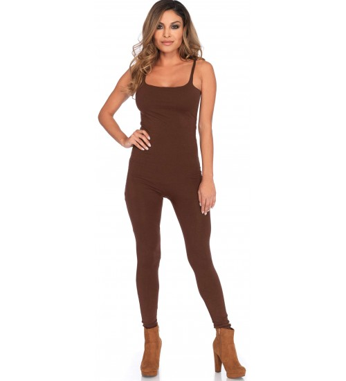Basic Womens Unitard in Brown at CrossDress Fashions,  Womens Clothing for Crossdressers, TG, Female Impersonators