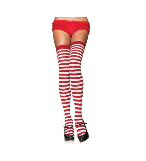 Stripped Thigh High Stockings 3 Pack at CrossDress Fashions,  Womens Clothing for Crossdressers, TG, Female Impersonators