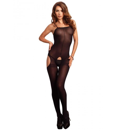 Opaque Spaghetti Strap Suspender Bodystocking at CrossDress Fashions,  Womens Clothing for Crossdressers, TG, Female Impersonators