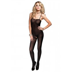Opaque Spaghetti Strap Bodystocking CrossDress Fashions  Womens Clothing for Crossdressers, TG, Female Impersonators