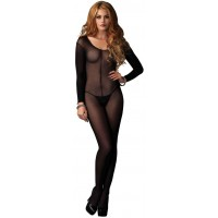 Long Sleeve Sheer Bodystocking