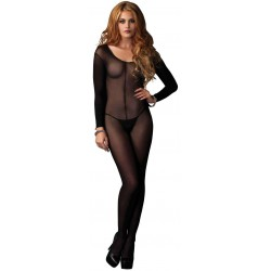 Long Sleeve Sheer Bodystocking CrossDress Fashions  Womens Clothing for Crossdressers, TG, Female Impersonators