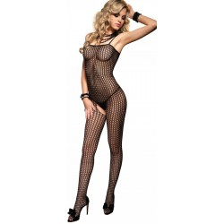 Crochet Net Seamless Bodystocking CrossDress Fashions  Womens Clothing for Crossdressers, TG, Female Impersonators