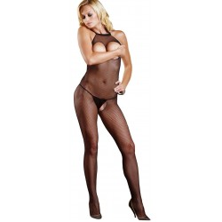 Fishnet Open Bust Bodystocking CrossDress Fashions  Womens Clothing for Crossdressers, TG, Female Impersonators