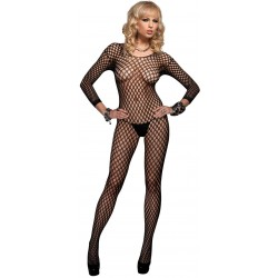 Ringo Net Long Sleeved Bodystocking CrossDress Fashions  Womens Clothing for Crossdressers, TG, Female Impersonators