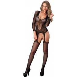 Long Sleeve Lace Bodystocking CrossDress Fashions  Womens Clothing for Crossdressers, TG, Female Impersonators