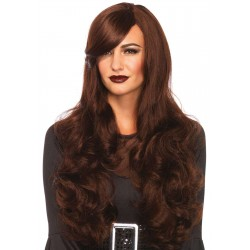 Extra Long Brown Wavy Wig CrossDress Fashions  Womens Clothing for Crossdressers, TG, Female Impersonators
