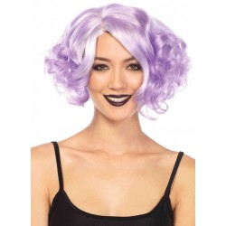 Lavender Curly Bob Short Wig CrossDress Fashions  Womens Clothing for Crossdressers, TG, Female Impersonators