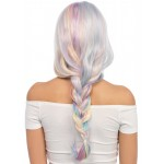 Pastel Rainbow Long Wavy Wig at CrossDress Fashions,  Womens Clothing for Crossdressers, TG, Female Impersonators
