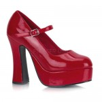 Dolly Red Platform Pump at CrossDress Fashions,  Womens Clothing for Crossdressers, TG, Female Impersonators