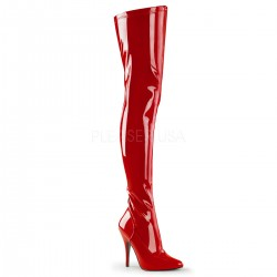 Seduce Red High Heel Thigh High Boots CrossDress Fashions  Womens Clothing for Crossdressers, TG, Female Impersonators