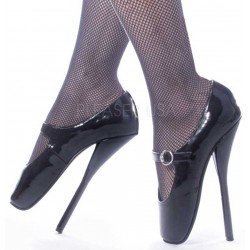 Ballet Extreme Black Mary Jane Shoe CrossDress Fashions  Womens Clothing for Crossdressers, TG, Female Impersonators