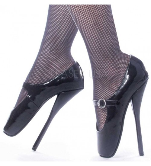 Ballet Extreme Black Mary Jane Shoe at CrossDress Fashions,  Womens Clothing for Crossdressers, TG, Female Impersonators