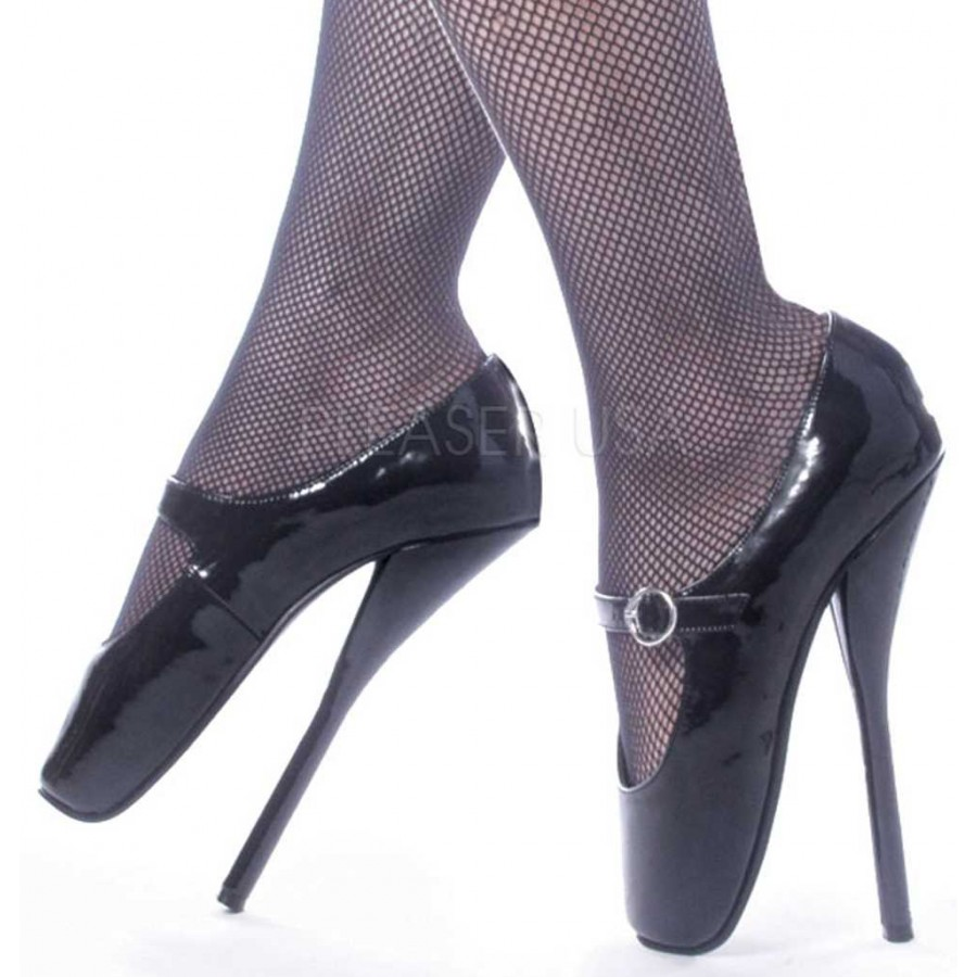 d4c01d255f Ballet Extreme Black Mary Jane Shoe at CrossDress Fashions, Womens Clothing for  Crossdressers, TG