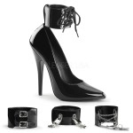Ankle Cuff Domina 6 Inch High Heel Pump at CrossDress Fashions,  Womens Clothing for Crossdressers, TG, Female Impersonators