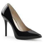 Amuse Black 5 Inch High Heel Pump at CrossDress Fashions,  Womens Clothing for Crossdressers, TG, Female Impersonators