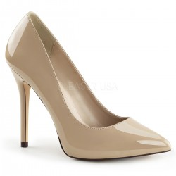 Amuse Cream 5 Inch High Heel Pump CrossDress Fashions  Womens Clothing for Crossdressers, TG, Female Impersonators