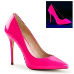 Amuse Neon Fuchsia 5 Inch High Heel Pump at CrossDress Fashions,  Womens Clothing for Crossdressers, TG, Female Impersonators