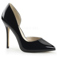Amuse Black 5 Inch High Open Side Pump
