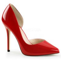 Amuse Red 5 Inch High Open Side Pump
