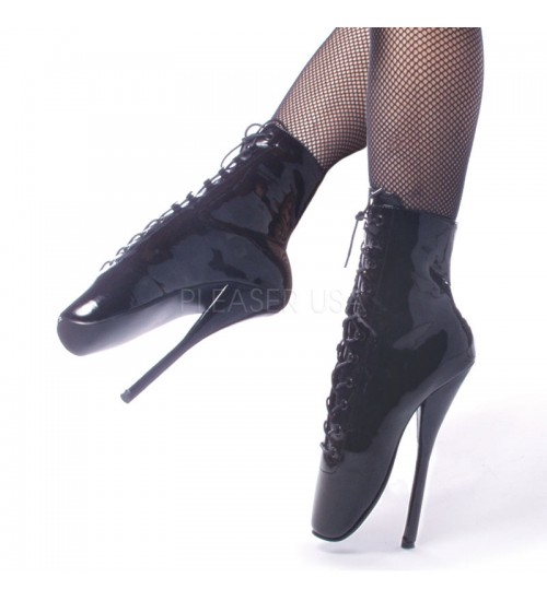 Ballet Lace Up Extreme Granny Boots at CrossDress Fashions,  Womens Clothing for Crossdressers, TG, Female Impersonators