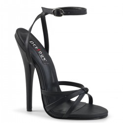 Black Domina High Heel Sandal CrossDress Fashions  Womens Clothing for Crossdressers, TG, Female Impersonators