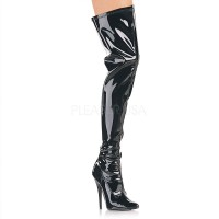 Domina High Heel Thigh High Boot