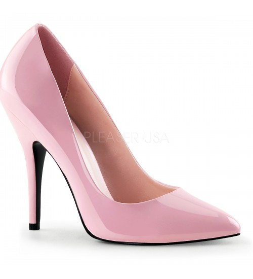Baby Pink 5 Inch Heel Seduce Stiletto Pump at CrossDress Fashions,  Womens Clothing for Crossdressers, TG, Female Impersonators